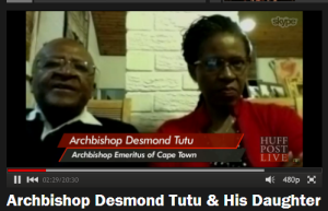 archbishop and reverend tutu